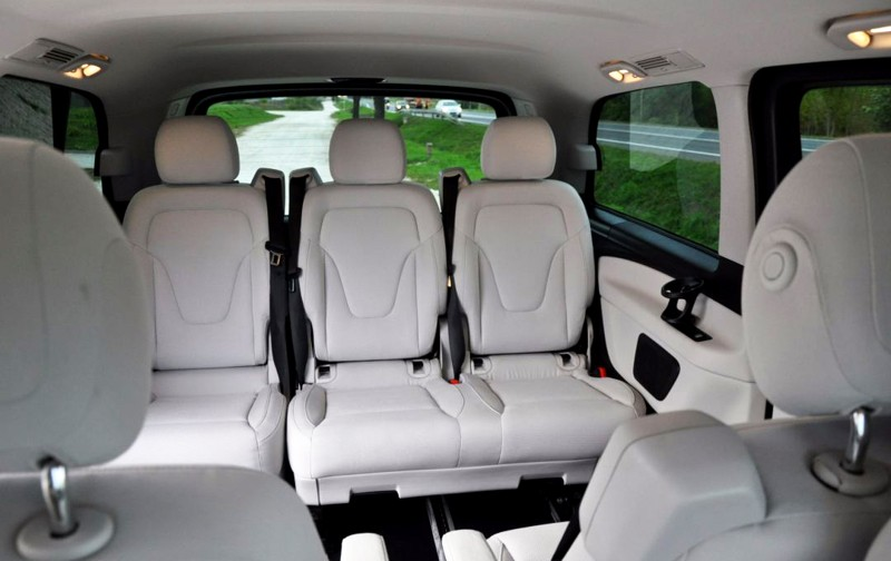 Rent mercedes v class 8rental