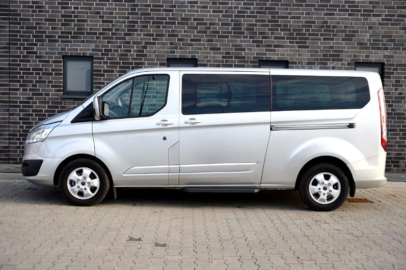 8rental standard minivan ford transit photo 2