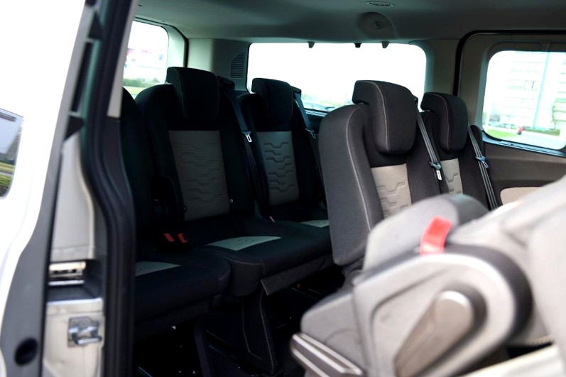 8rental standard minivan ford transit photo 4