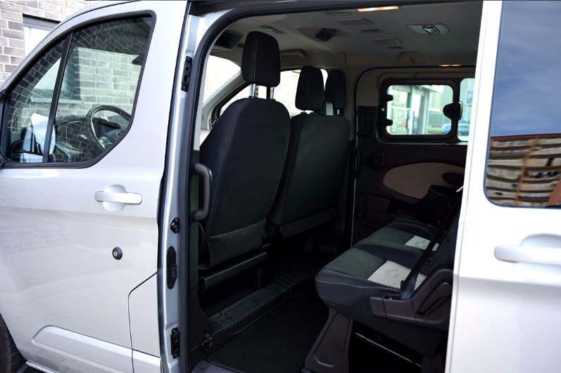 8rental standard minivan ford transit photo 3