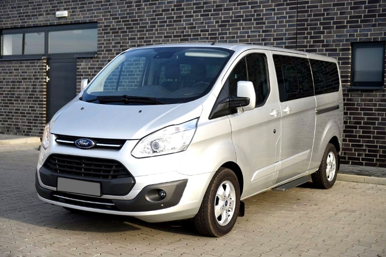 8rental standard minivan ford transit photo 1