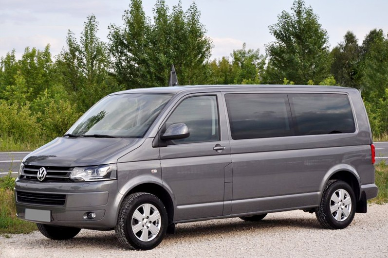 8rental volkswagen caravelle interior van rental with driver