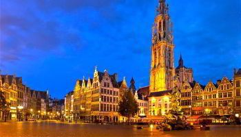 Minibus hire in Antwerp with chauffeur photo city 45