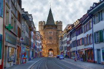 Rent a coach in Basel with chauffeur photo city 45