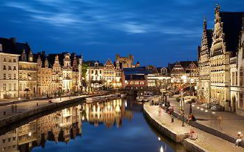 Rent a Bus in Ghent with driver photo city 78