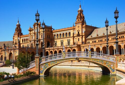 Hire a coach with driver in Seville city photo new