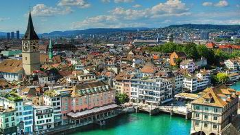 Minibus hire in Zurich photo city 2