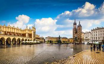 Minibus hire in Krakow with driver photo city 1