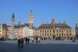 Rent a minibus in Lille with driver photo city 2